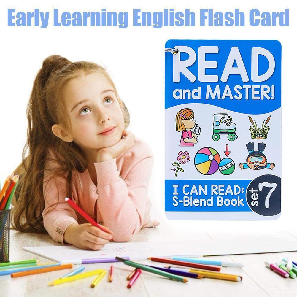 112 комплектов английских телефонных флэш-карт, детские ранние карты, развивающие игрушки, обучающие для детей, английский флэш-накопитель ...