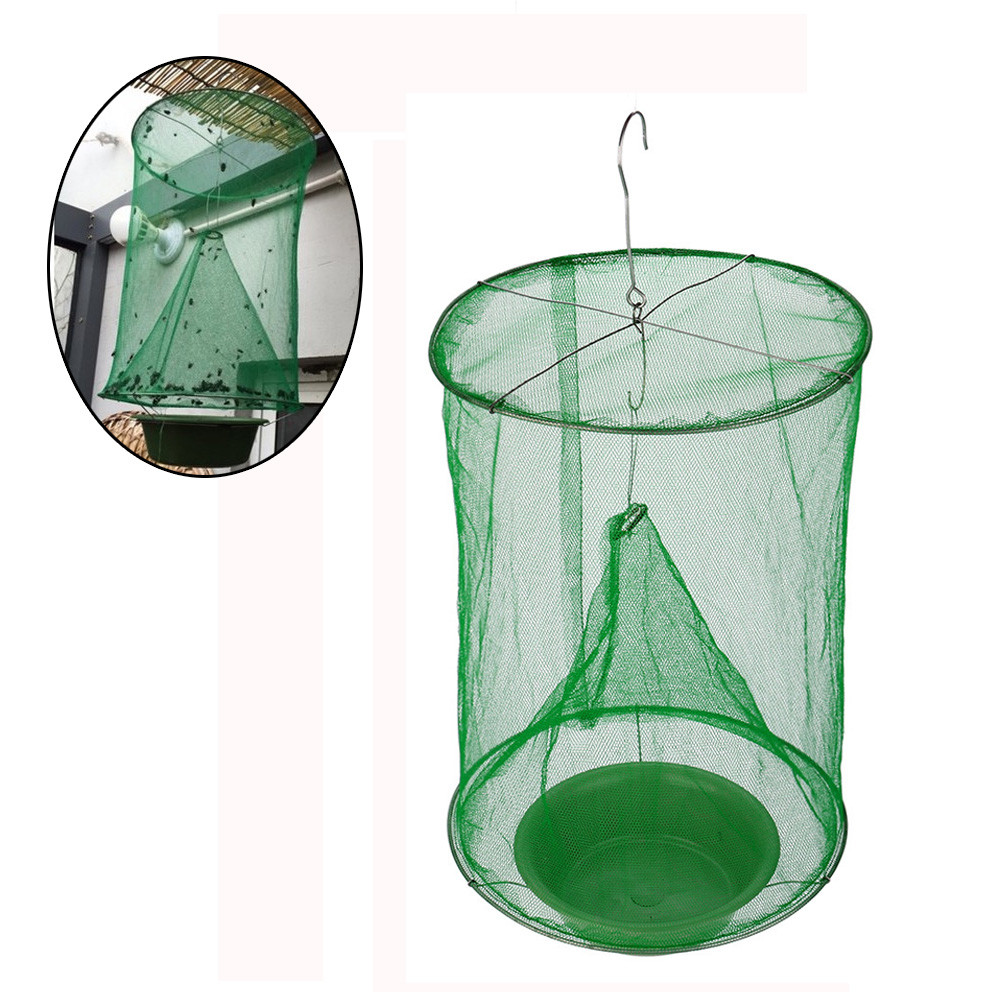 Pest-Control Trap Cage-Net Fly-Catcher Killer Flies Garden Reusable Hanging Home 1pc