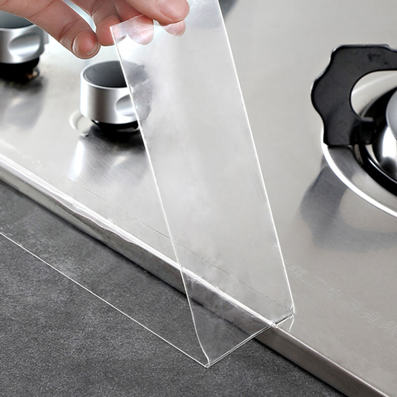 Прозрачная акриловая лента для ванной и кухни, 3 м