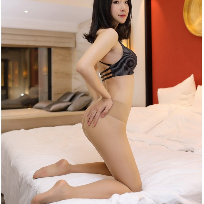 Low Waist 360 Degrees Traceless Seamless Ultra-thin Sexy Velvet Pantyhose Transparent Stockings To The Bottom Of The Stockings