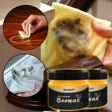 2020 marca 1/2 Uds. Cera Natural de madera sazonada cera de abeja Solución completa cuidado de muebles cera de abejas limpieza del hogar