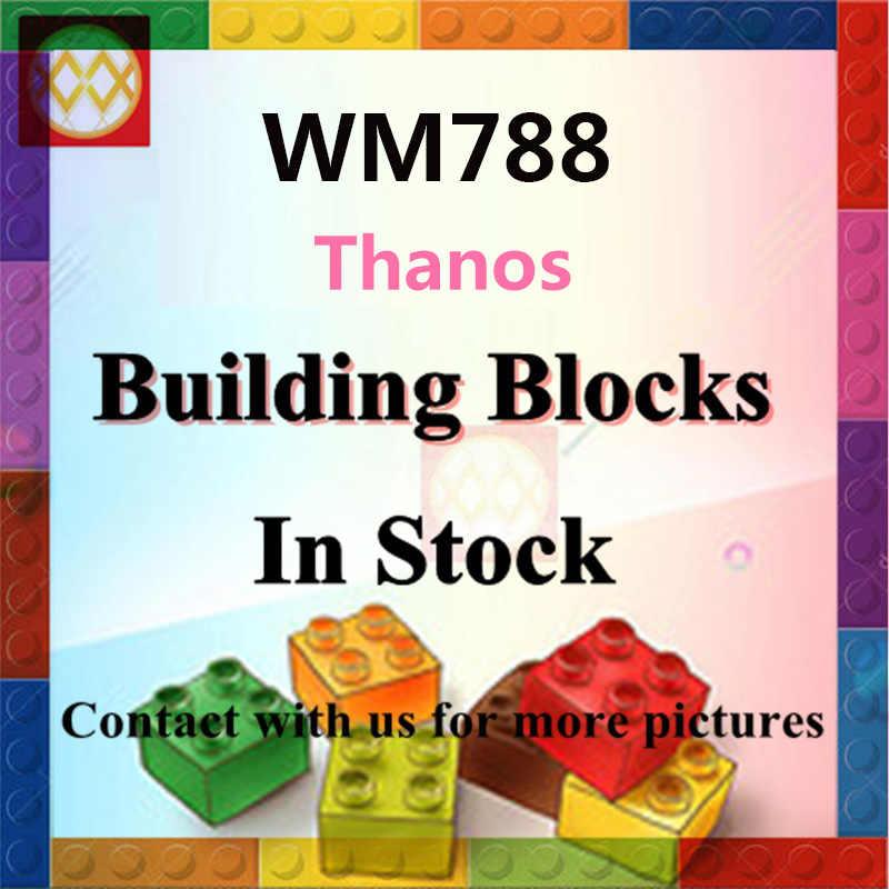 WM788 Trasporto Libero Thanos Doppio-Orlato Spada Shuri Blocchi di Costruzione di Modello Endgame Eroe Mattoni Giocattoli Per I Bambini