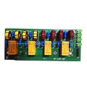Image 2 - 100W Short wave radio power amplifier Low pass filter LPF HF low pass LPF 3.5Mhz 30Mhz DC 12V Shortwave Ham Radio amplifier