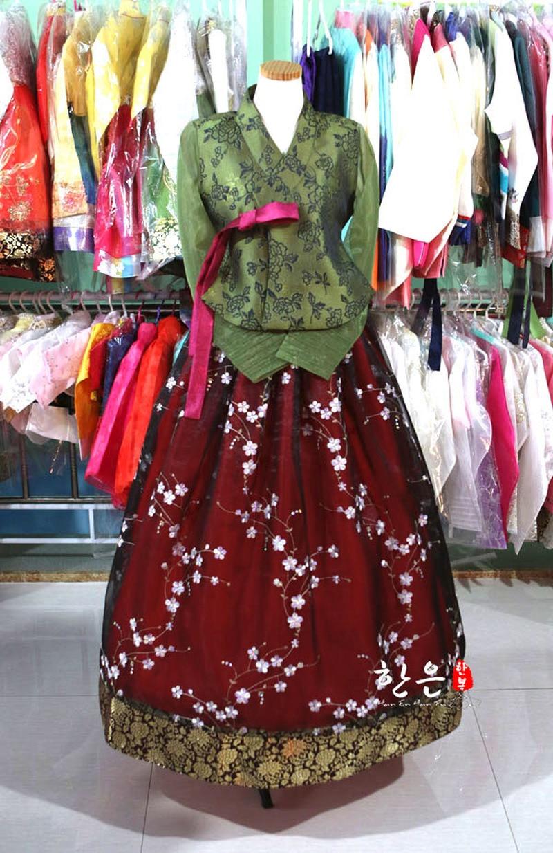 Korea Imported Fabric / New Improved Hanbok / Stage Hanbok / Exquisite Hanbok /