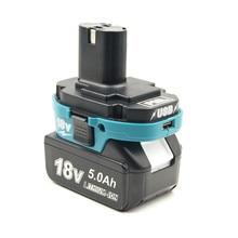Batterij Adapter Converter Tool voor Makita 18V BL Li Ion Batterij Makita 18V NI Cd Ni Li Ion batterij USB Oplader Voor telefoon