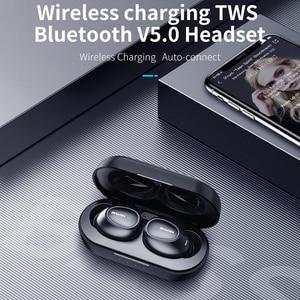 Image 4 - Awei T16 tws耳芽ワイヤレス充電イヤホン自動接続のbluetoothヘッドフォンxiaomi redmi huawei社のiphone
