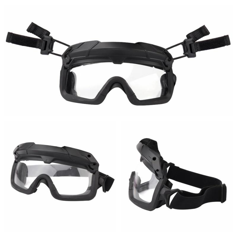 Ветрозащитные тактические очки для страйкбола, охотничьи очки, очки для стрельбы, мотоциклетные очки Wargame, очки для верховой езды, очки для пейнтбола, защита глаз - Цвет: 3