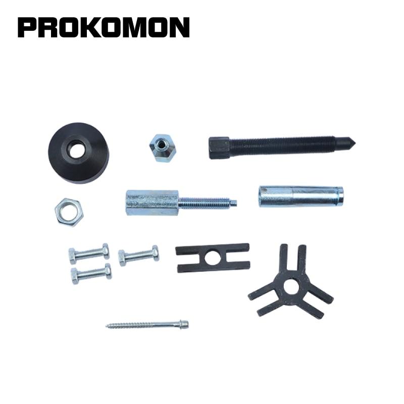 Axles Slide Hammer Steel Puller External Internal Oil Seal Bearing Remover 14pc