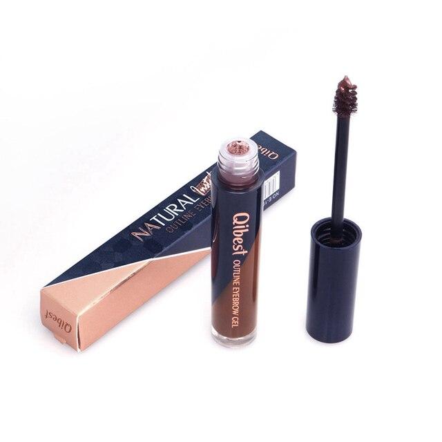 5 Colors Tattoo Makeup Eyebrow Liquid Brows Pigment Tint Long Lasting Natural Waterproof Dye Eyebrows Black Brown Eyes Cosmetics 4