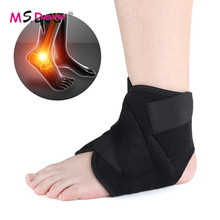 1PC Compression Ankle Protectors Adjustable Ankle Support Brace Elastic Ankle Sl
