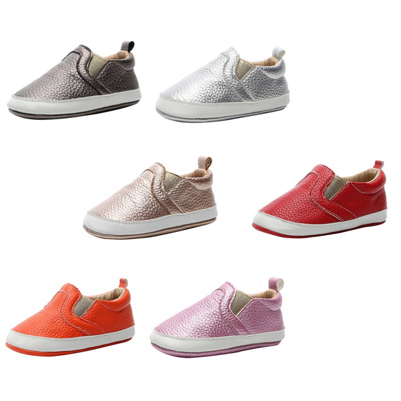 Baby Shoes Autumn Fashion  Boys Girls Anti-Slip Shoes Sneakers Toddler PU Soft Soled Shoes