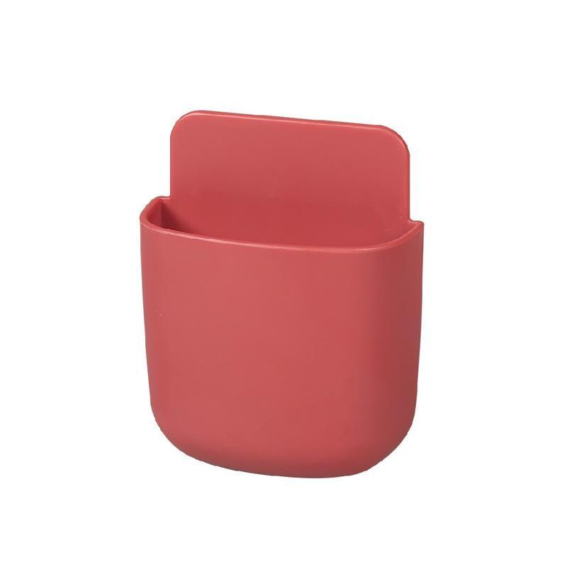 Коробка для хранения пульт дистанционного управления кондиционер чехол для хранения мобильный телефонный разъем Держатель подставка контейнер 1 шт. настенный смонтированный Органайзер - Цвет: 02 Large