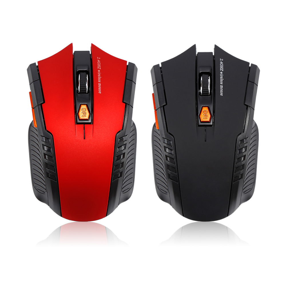 Mr Centechia 2017 New Portable 2.4G 1600DPI 6 Keys Wireless Optical Mouse Mice Gaming Mouse For Computer PC Laptop Gamer as gift image