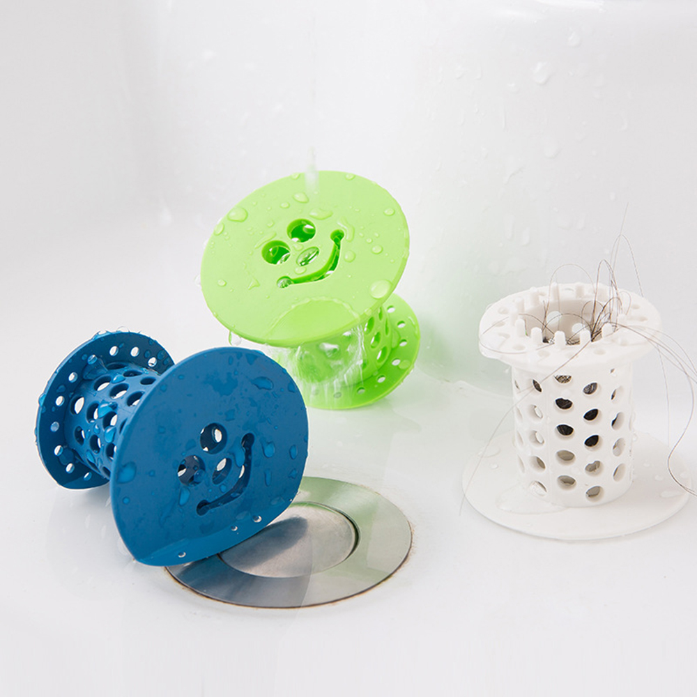 Home Bathroom Drain Hair Catcher Bath Stopper Sink Strainer Filter Sewer Dredge Hair Collector