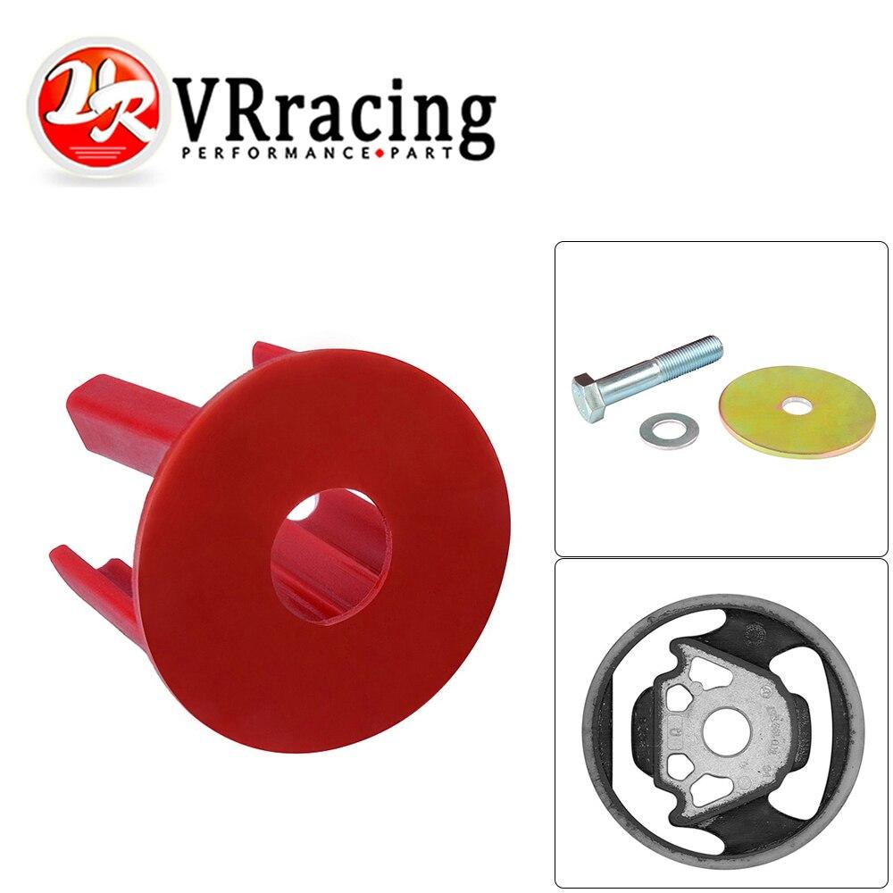 VR - Red Engine Torque Arm Insert Dog Bone Mount Kit For VW Golf GTI Rabbit Passat Tiguan EOS Audi A3 Q3 2.0TSI VR-EMI01