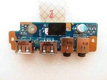 Original para toshiba satélite l670 l675 l670d l675d usb placa de áudio LS-6041P