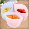 Пищевая сумка PEVA для сохранения свежести, многоразовые мешки для хранения, герметичные силиконовые мешки с замком для морозильной камеры, к...