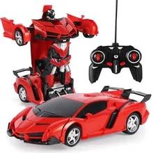 Boys Toys Transformation Model-Toy Robots Car Remote-Control Rc-Car Electric Outdoor