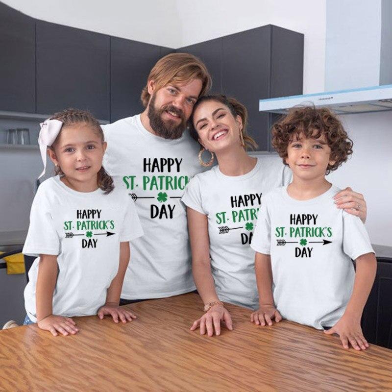 My First St Patricks Day Baby T Shirt Cute New Tee Unique Gift Mum Dad Newborn