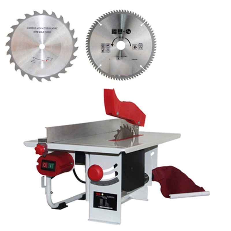 220V Woodworking Chainsaw Small Angle Saw Desktop Cutting Machine Multi-function Table Saw Circular Saw Woodworking Equipment