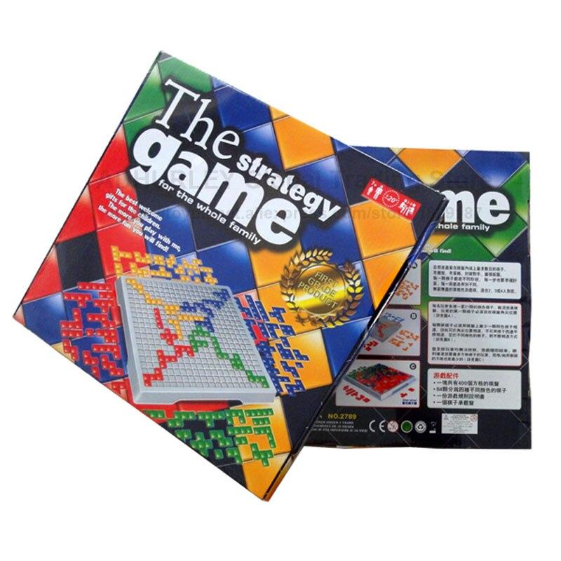 Blokus Board Games 4 Players Parents&Children Strategy Game Blokus Jeu De Societe