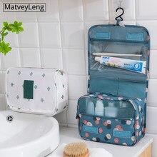 Hohe qualität Frauen Make-Up Taschen reise kosmetische bag Pflege Organizer Wasserdicht Lagerung Neceser Hängen Bad Waschen Tasche