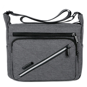 Men Messenger Bags Men's Fashion Business Travel Waterproof Shoulder Bags Canvas Oxford Briefcase Men Crossbody Bag Handbag new arrival men retro business briefcase 15 6 laptop waterproof crossbody bags retro wax canvas handbag