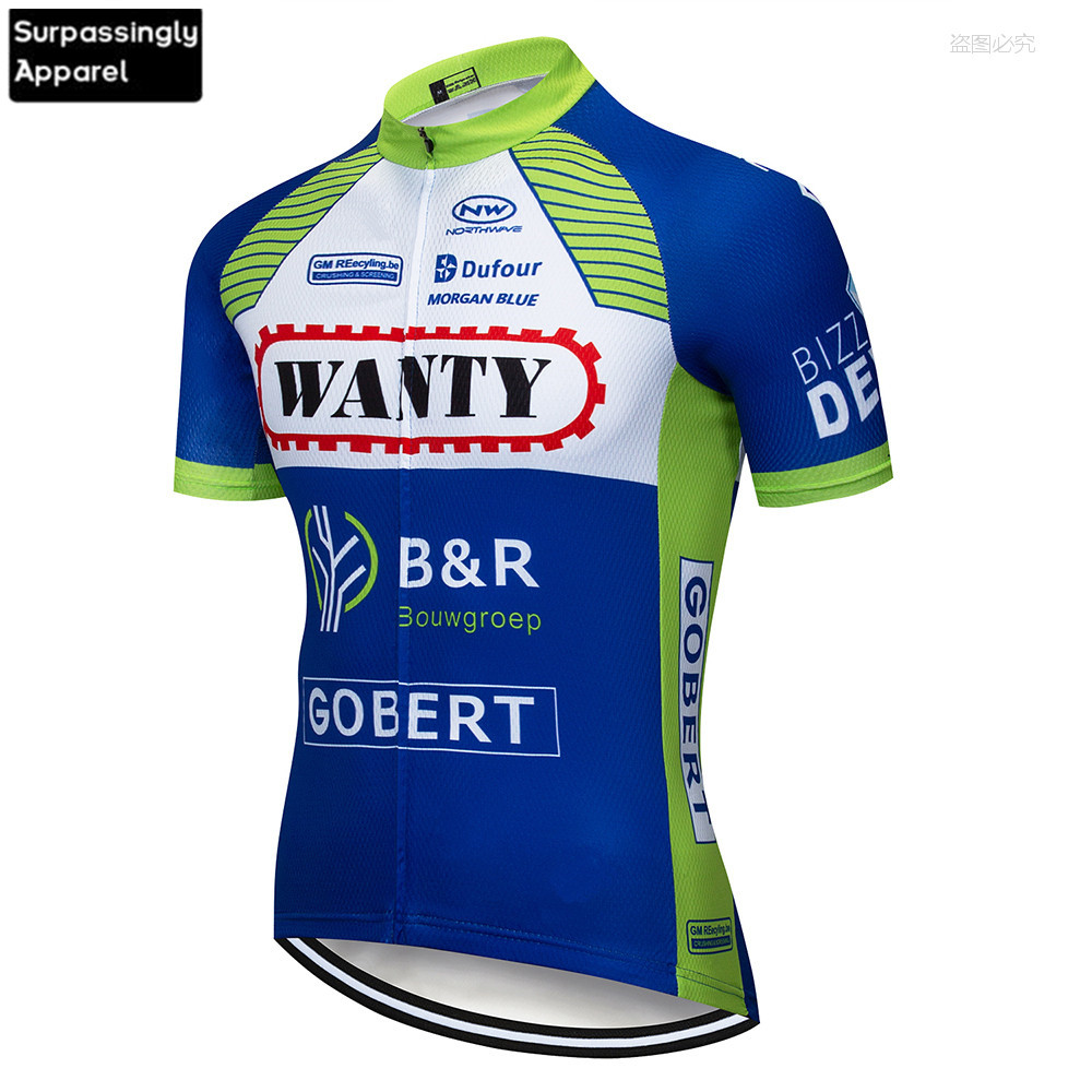 2020 Team Wanty Cycling Jersey Bike Motorcycle Cycling Jersey Crossmax Shirt Ciclismo Clothing 6XL Men MTB TShirt Jersey Cycling