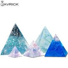 5 pièces/ensemble pyramide Silicone moules résine coulée moule Orgone pyramide moule bijoux outils