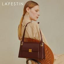 LA FESTIN  Designer fashion Bags women 2020 new trendy retro one-shoulder underarm bag simple large capacity tote bag