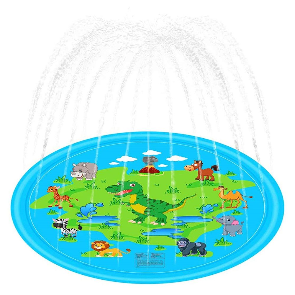 Swimming PooI Inflatable Splash Pad Sprinkler For Kids Toddlers Kiddie Baby Pool Outdoor Games Water Mat Toys For Toddlers
