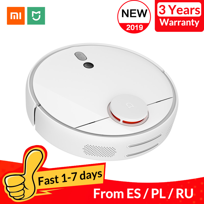 Original Xiaomi mi Robot aspiradora 1S para el hogar carga automática de barrido inteligente planificada aplicación WIFI Control remoto limpiador de polvo