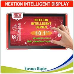 10.1 NX1060P101 Nextion ذكي HMI USART UART المسلسل TFT وحدة عرض LCD مقاوم أو Capactive شاشة لوحة اللمس ل اردوينو