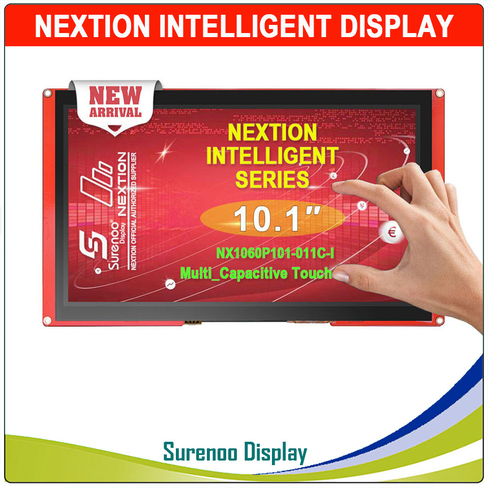 "10.1"" NX1060P101 Nextion Intelligent HMI USART UART Serial TFT LCD Module Display Resistive Or Capactive Touch Panel For Arduino"
