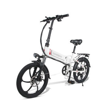 Smart Electric Bicycle Samebike 20LVXD30 Two Wheels Electric Bikes 48V 10.4AH Foldable Electric Scooter With Removable Battery