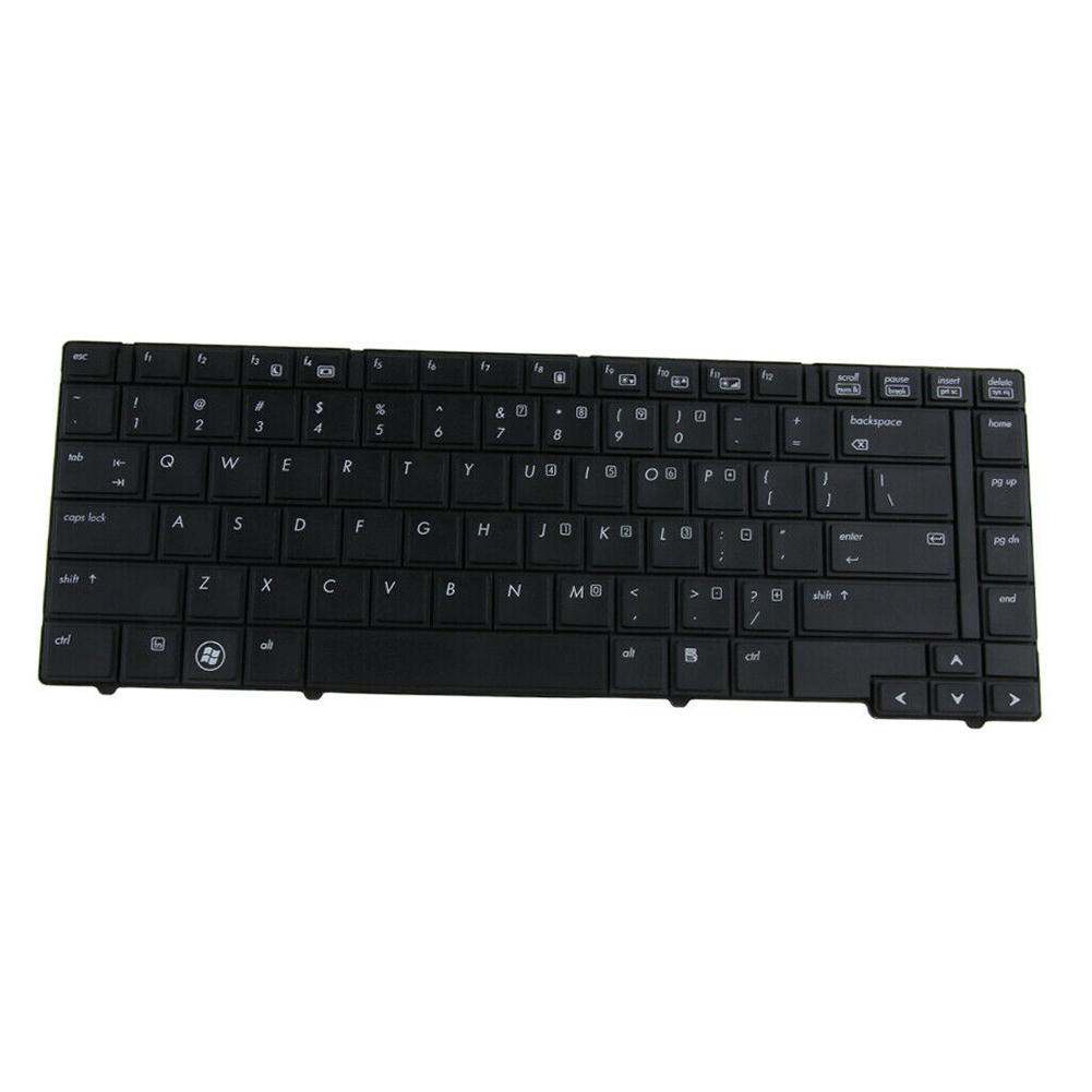 No Backlight Replacement US Version Computer Durable Home Notebook Accessories Laptop Keyboard Practical For HP EliteBook 8440P