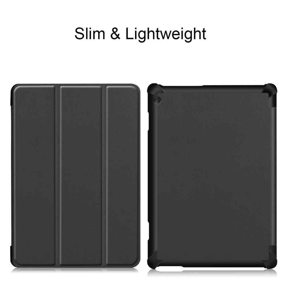 Nieuwe Collectie Slim Hard Case voor Lenovo Tab M10 TB-X605F 2018 Release Tablet 3 Vouw Magnetic Stand Cover voor M10 x605 10.1 Inch
