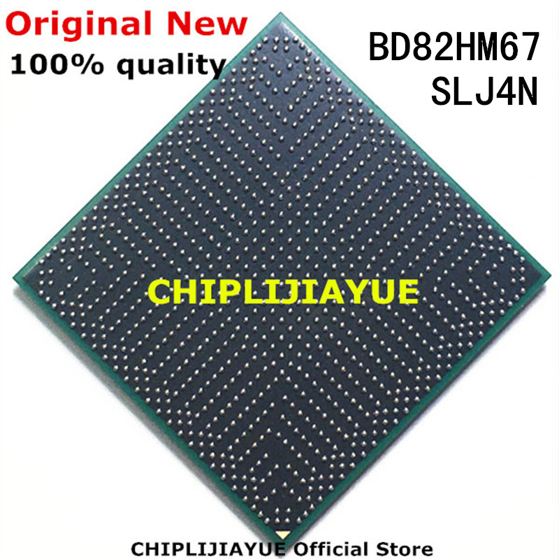 100% новые чипы BD82HM67 SLJ4N BD82 HM67 IC, чипсет BGA