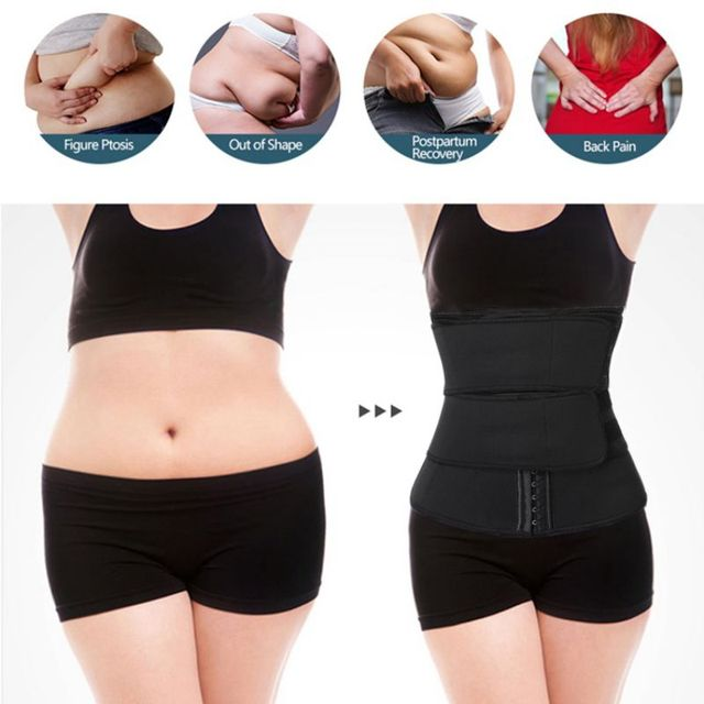 Slimming Abdomen Belt Chlorine Fiber Girdle Belt Postpartum Strengthening Sports Girdle Yoga Waistband Sweat Band 2
