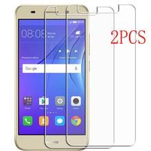 Для Huawei Y3 2017 защитная пленка из закаленного высокопрочного стекла на CRO-L02 CRO-L22 CRO-L03 CRO-L23 U00 5,0 дюймов Защитная пленка для экрана телефона защит...