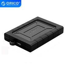 ORICO boîtier HDD 2.5 pouces SATA vers USB 3.1 antichoc étanche à la poussière Type C boîtier de disque dur boîtier de disque dur externe