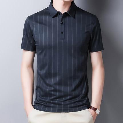 New Summer Short-sleeved T-shirt Men's Trendy Men's Clothing On The Wild  9086