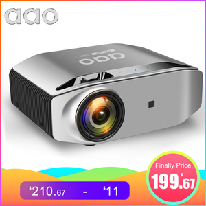 AAO Native 1080p Full HD Projector YG620 LED Proyector 1920x 1080P 3D Video YG621 Wireless WiFi Multi-Screen Beamer Home Theater(China)
