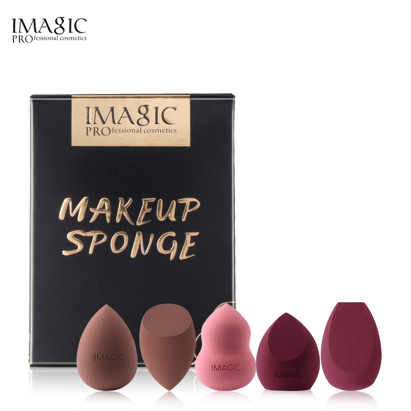 IMAGIC 3 Pack Make Mixer Zacht водный Spons Bladerdeeg Professional Make-Up Puff Spons voor тональный крем консилер