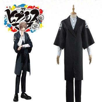 Juego Division Rap Battle Hypnosis Mic GENTARO YUMENO Cosplay de Kimono conjunto completo disfraz de halloween para mujeres/hombres