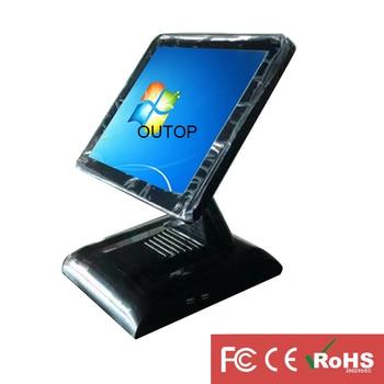 2pcs/ctn wireless data pos system restaurant point of sales machine POS touch screen cash register