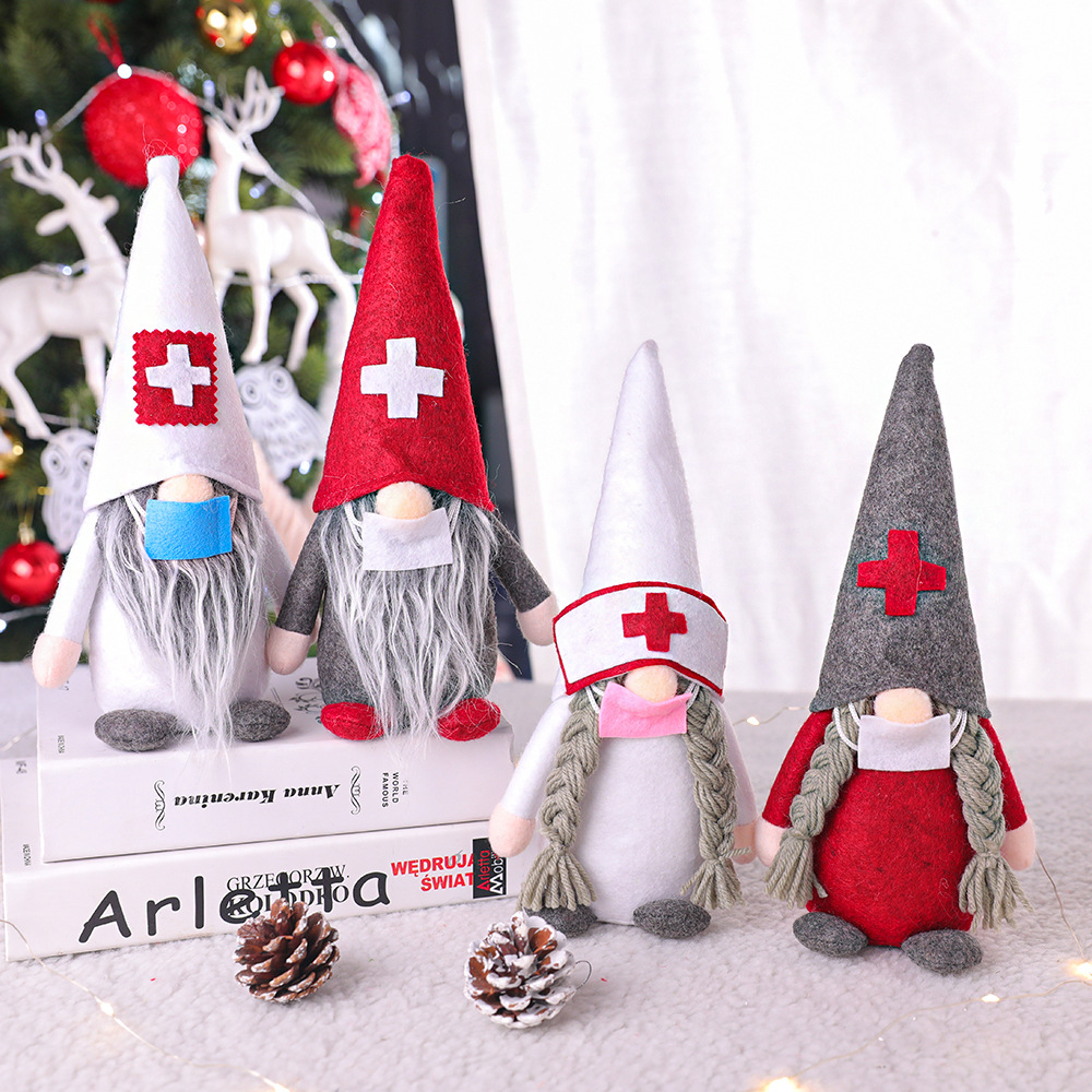 Dcotor Who Christmas Special 2021 Merry Christmas Doctor Nurse Santa Claus Faceless Doll Ornaments New Year 2021 Christmas Decoration For Home Ch10 Party Diy Decorations Aliexpress