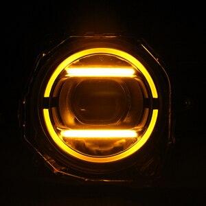 Image 4 - Jimny مصباح تشغيل نهاري ، موديل jb74 G63 ، مع ضوء وامض أصفر ، الموضع الأصلي ، بدون مكسور ، 2019