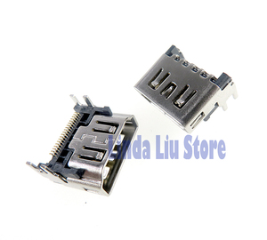 Image 5 - Conector de puerto compatible con HDMI PS5, reemplazo de Interfaz de vídeo HD para Sony PlayStation 5, 10 unids/lote, Original, nuevo