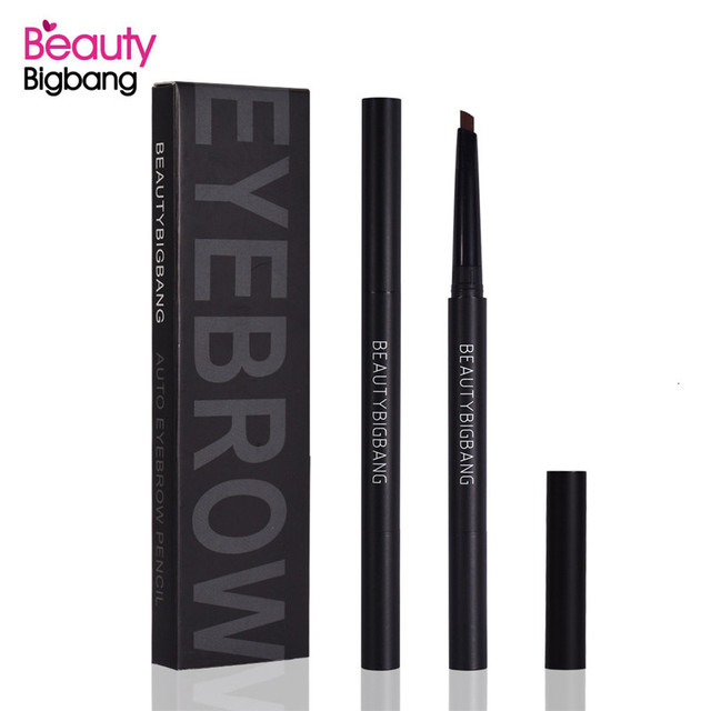 Beauty Big Bang Eyebrow Pencil Enhancers Natural Double-ended Black Brown Gray Color Waterproof Eyebrow Pen Cosmetics Tools 5